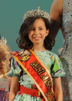 Mini Miss International 2nd vice Бару Диана