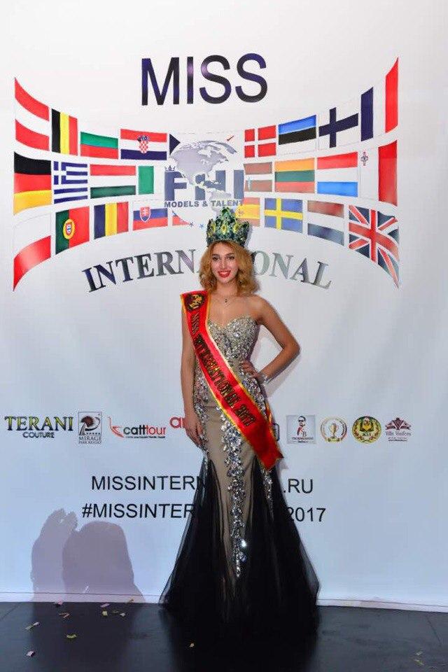 Итоги  конкурса красоты и  таланта MISS INTERNATIONAL 2017